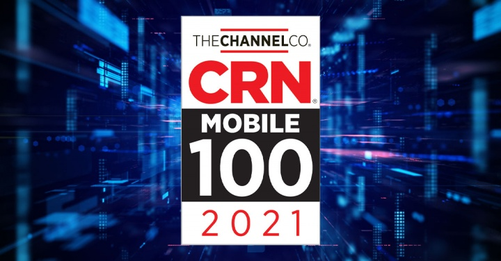 Symantec is named to CRN's 2021 Mobile 100 List